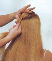 مدل مو دخترانه و زنانه شینیون کنفی